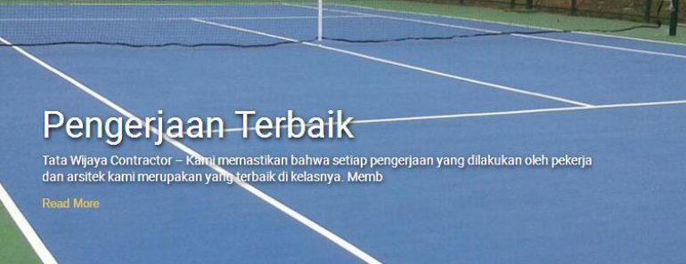 Biaya Pembuatan Lapangan Futsal Basket Badminton Tenis Volley
